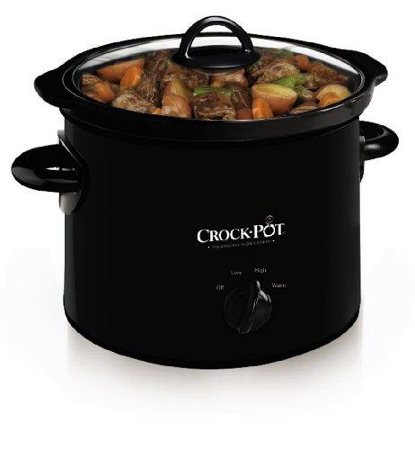 Crock-pot Scr300-b Manual Slow Cooker, 3 Quart