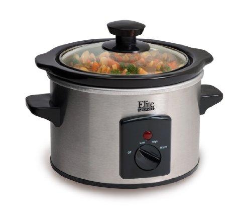 Maximatic Mst-250xs Elite Gourmet 1-1/2-quart Slow Cooker